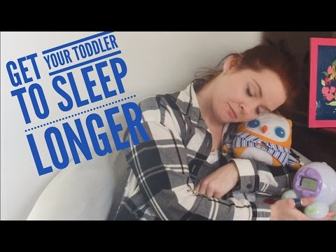 How to get your toddler to sleep longer!!!