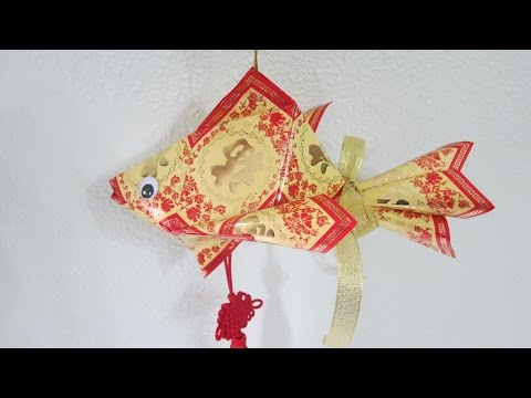 CNY TUTORIAL NO. 50 -  Hongbao Fish