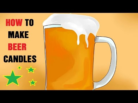 How to Make Beer Candles
