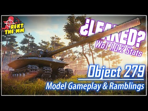 ¿LEAKED? Object 279 Stats & Model Gameplay || World of Tanks