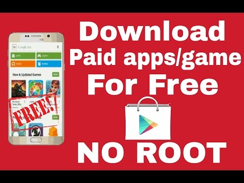 How to install paid apps/games for free in google play store(Hindi)