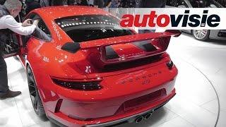 Genève 2017: nieuwe Porsche 911 GT3 heeft de beste handbak óóit - by Autovisie TV