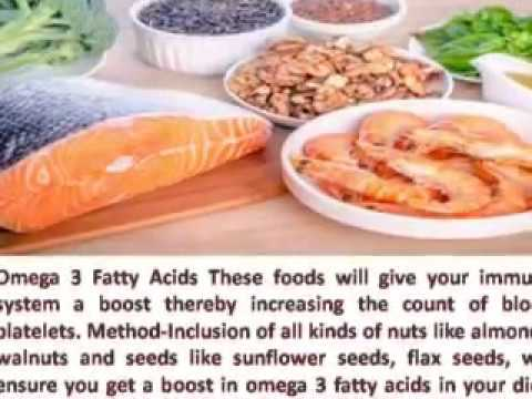 HOW TO INCREASE THE BLOOD PLATELET COUNT