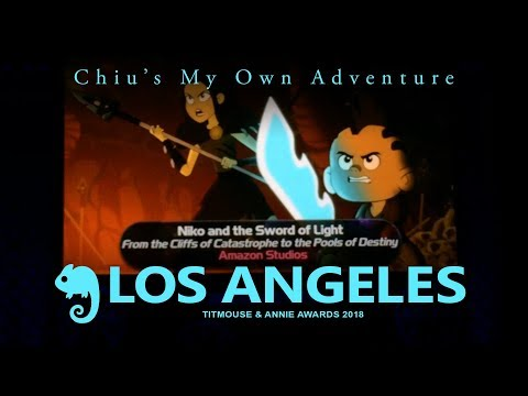 Vlog Los Angeles: Titmouse and Annie Awards 2018