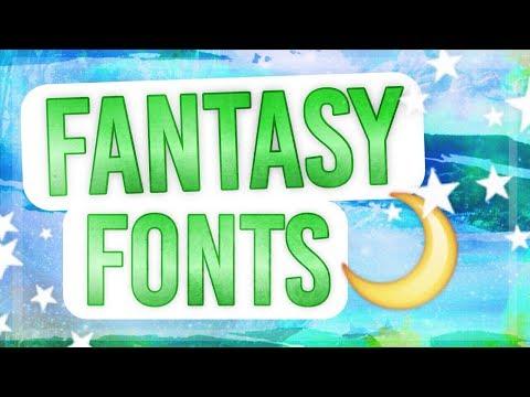 Fantasy-Themed Fonts