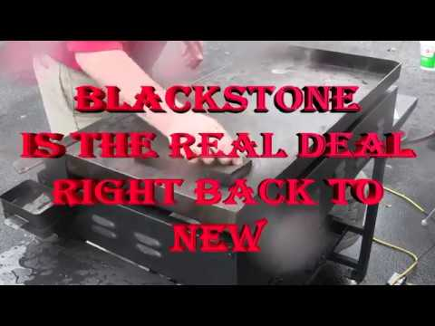 Blackstone Flat Top Griddle Top Clean Cook Cover