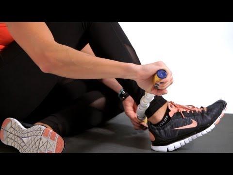 Foam Rolling Technique For Shin Splints Foam Rolling