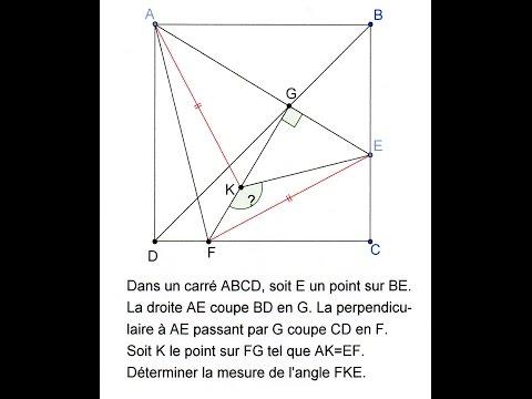 12. 1S-Cinq angles droits cherchent angle obtus