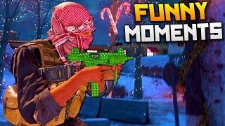 Modern Warfare Remastered Funny Moments - Winter Crash