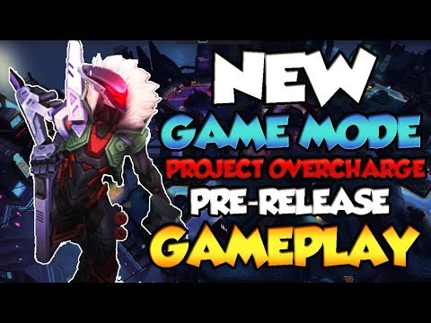 NEW PROJECT GAME MODE: PROJECT OVERCHARGE!!! [PBE] w/SkinSpotlights & Vandiril - League Of Legends