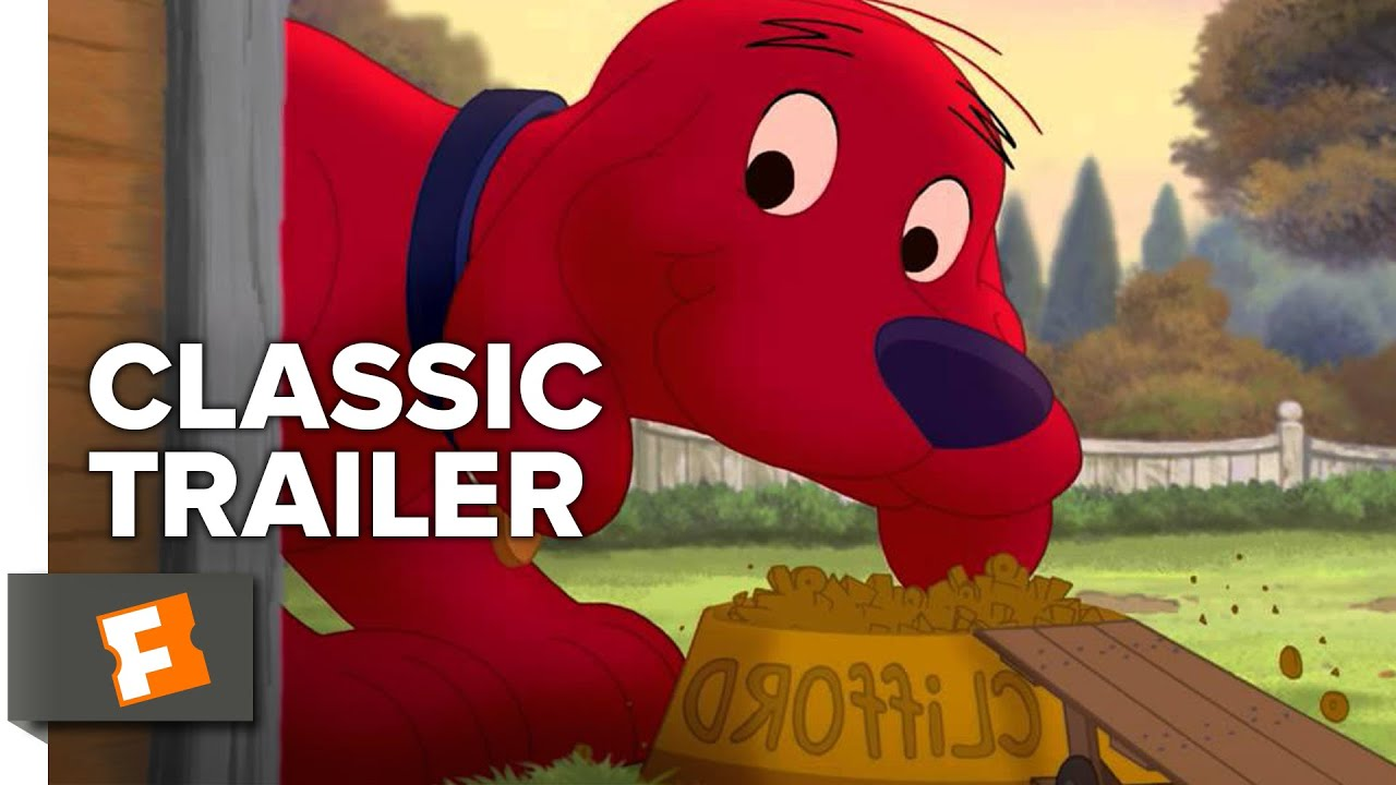 Clifford's Really Big Movie (2004) Official Trailer - John Ritter, Children's Animated Movie HD