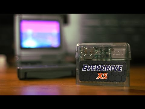 Everdrive GBA X5 for the Game Boy Advance