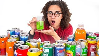 MIXING EVERY SODA IN THE WORLD! *Do NOT Drink!*