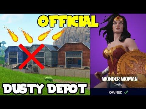 *NEW* Fortnite: The Meteor Is OFFICIALLY Hitting Dusty Depot Not Tilted! (Season 4 Leaks FULL PROOF)