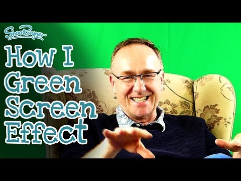 How do I do that Green Screen Effect? Here's how...