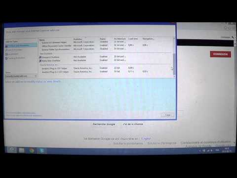 Windows 8 How to manage browser add ons in Internet explorer 10