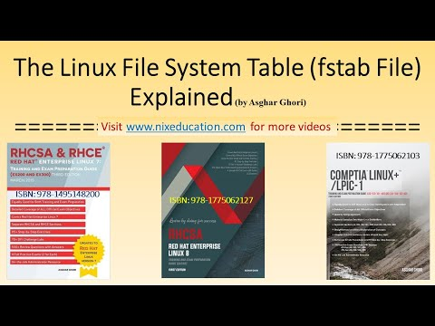 The Linux File System Table (/etc/fstab File) Explained