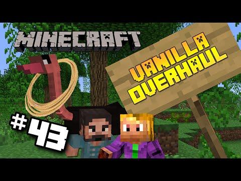 #43 Minecraft Vanilla Overhaul Modpack   The Golden Lasso