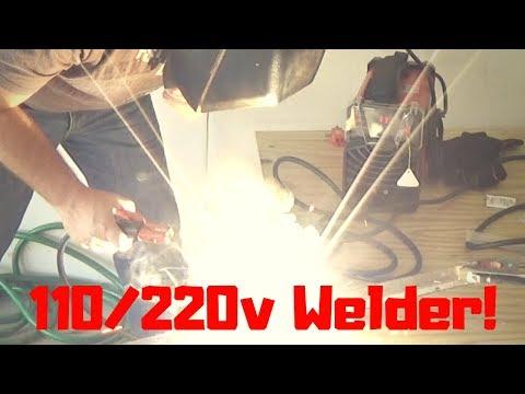 Review Amico ARC-160D 160 Amp Stick Arc DC Welder 110/230V