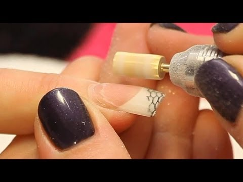 Infill an Acrylic Nail Tutorial Video by Naio Nails