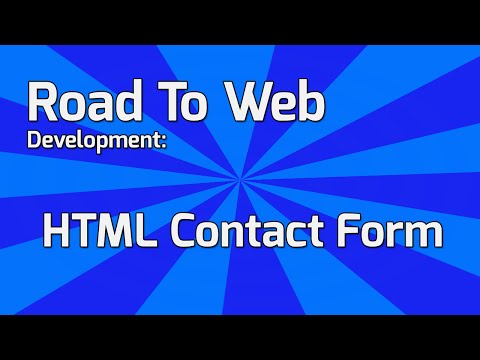 How to build a Contact Form in HTML5