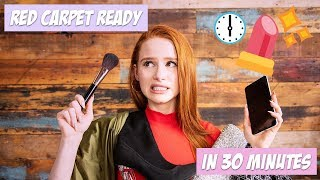 Red Carpet Ready in UNDER 30 Minutes?! | Madelaine Petsch