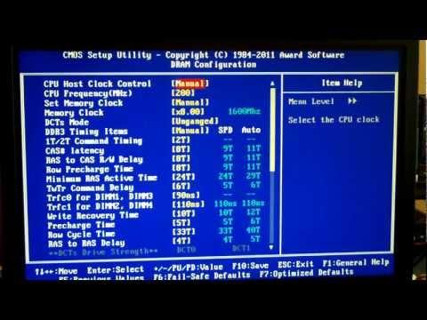 Kingston HyperX DDR3 Best Timings @ 1600MHz 1.65v