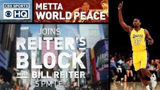 Metta World Peace puts himself in the MJ/LEBRON debate | Reiter's Block