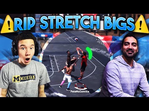 RIP Stretch Bigs!!? Ronnie2K Turned My GLASS CLEANER Into A SHARPSHOOTER!! - NBA 2K18