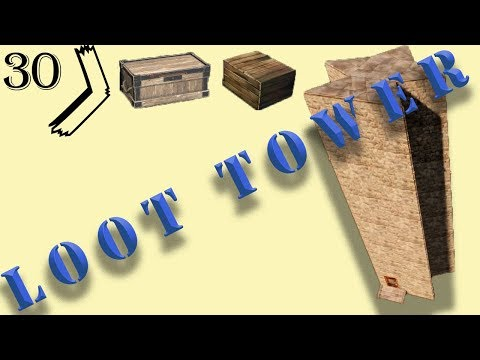 Loot Tower I Rust Base Design Tutorial I Build 3.