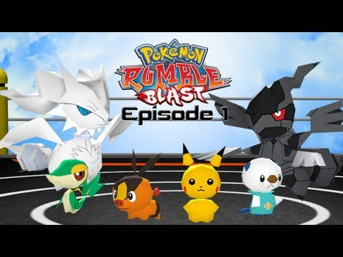 Pokémon Rumble Blast - Episode 1 - The Beginning of a New Adventure!