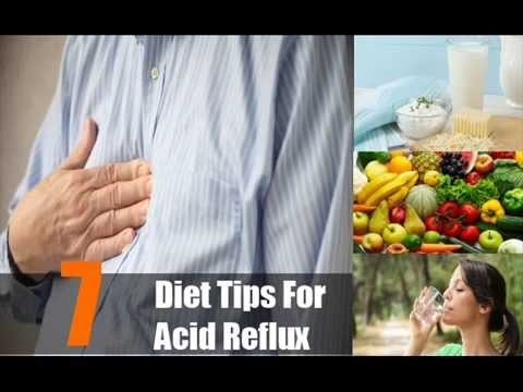 7 Various Diet Tips For Acid Reflux
