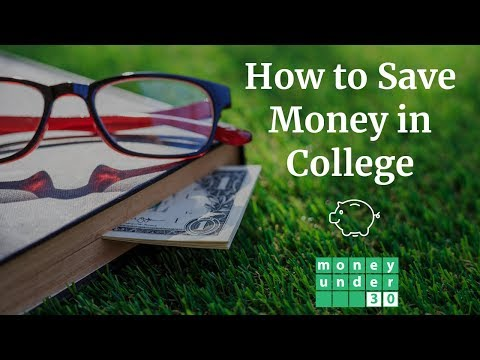 How to Save Money in College