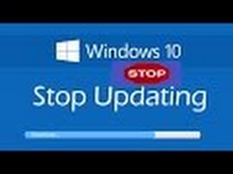 How To Turn Off Windows Automatic Update On Windows 10 / how to stop auto updating of  windows,