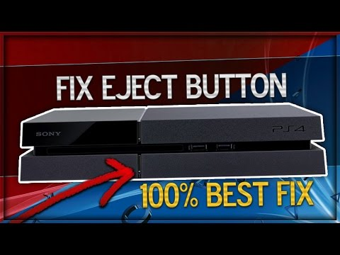 How To Fix PS4 Eject Button & Fix PS4 Ejecting Disc! (Best Eject Button Fix)
