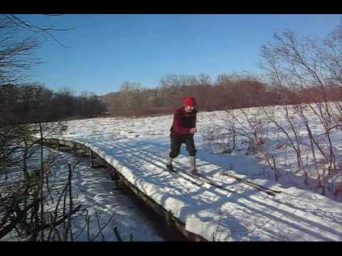 How to Cross Country Ski: Pt. 1 of 4 -- for XC Nordic Fun!