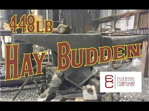 Hay Budden Anvil - 448lb