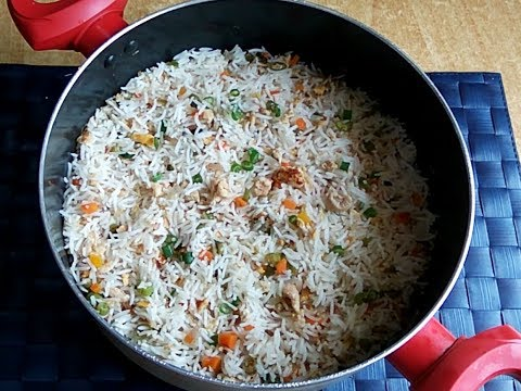 Perfect Egg Fried rice / how to cook rice perfectly for fried rice