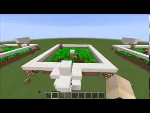 Low-Tech Automatic Bread, Carrot, and Potato Farms Using Villager Mechanics