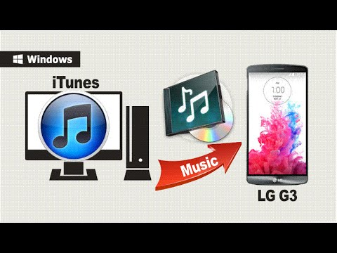 [iTunes Music to LG G3 / LG G4]: How to Sync Music / Playlist from iTunes to LG G3?