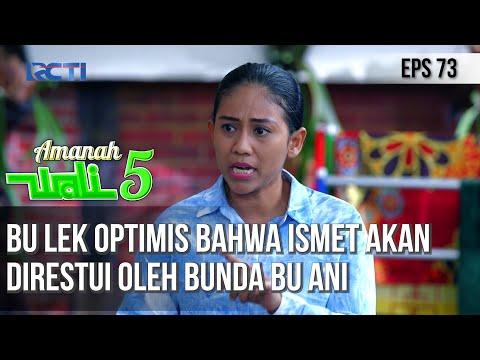Download AMANAH WALI 5 - Bu Lek Optimis Bahwa Ismet Akan Direstui Oleh Bunda Bu Ani MP3 Gratis