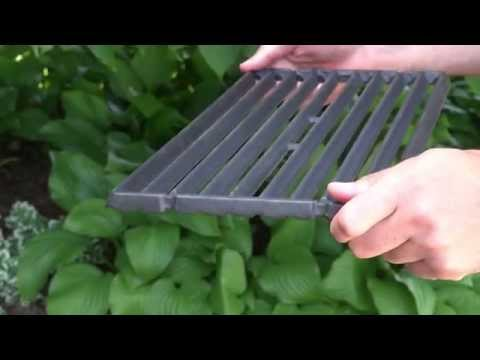 Broil King FAQ - ''How do I take care of my cast iron cooking grids?''