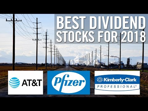 TOP 3 DIVIDEND STOCKS FOR 2018! 🤑