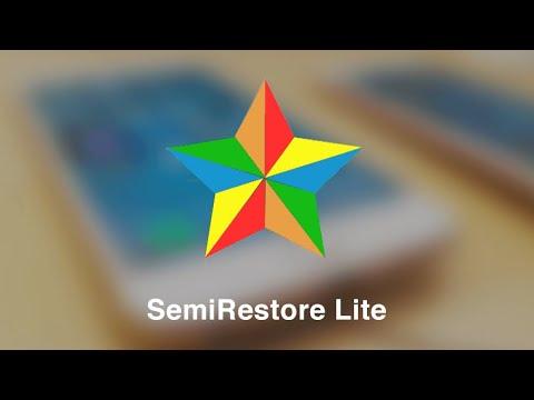 [Tutorial] How to Run or Use SemiRestoreLite to remove all tweaks on Cydia iOS 11 Electra Jailbreak