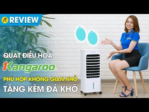 Quạt điều hoà Kangaroo: nhỏ gọn, bình chứa nước rời (KG50F61) • Điện máy XANH