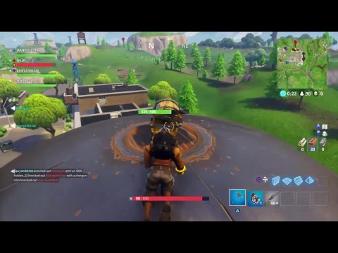 Fortnight playing with trash talker W all day and suscribers