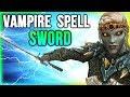 Skyrim Best Weapon Location - For VAMPIRE Build (Harkon's Sword)