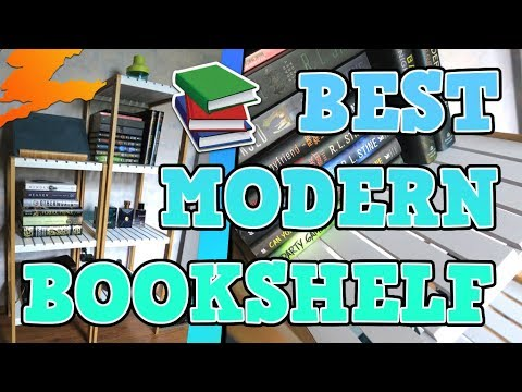 Modern and Minimal Bookshelf