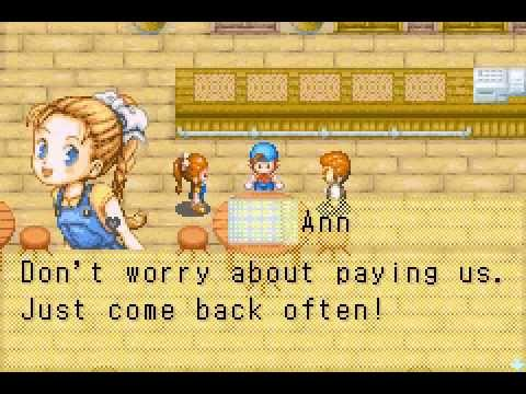 Harvest Moon : Friends Of Mineral Town Ann Black Heart Event