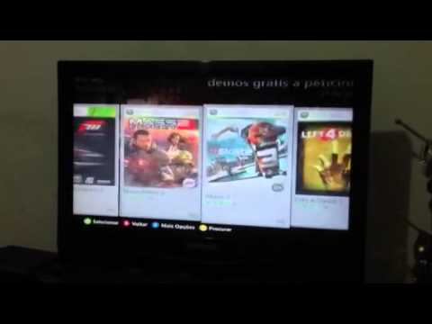 Como baixar demo grátis no Xbox 360